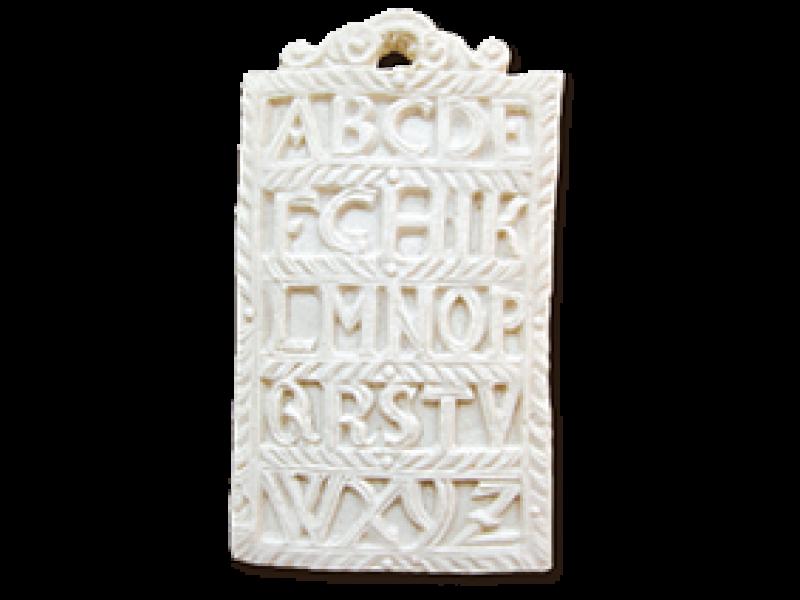ABC Schrift Springerle